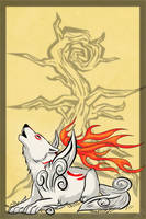 ..: Amaterasus' Howl :.. by Freewolf7