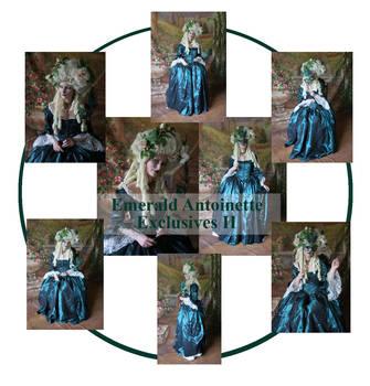 Emerald Antoinette Excl II by mizzd-stock