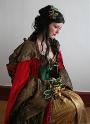 Holiday Goddess Portrait 1 by mizzd-stock