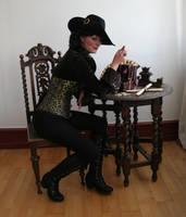 Pirates - Captain Ebony Black 4 by mizzd-stock