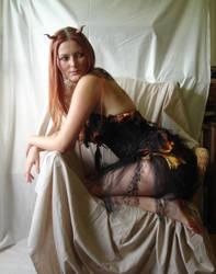 Autumn Devil Fae 3 by mizzd-stock