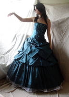 Blue Gown 1 by mizzd-stock