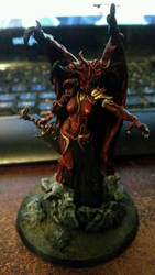 Lady Daemon Prince WIP by Ryuondo
