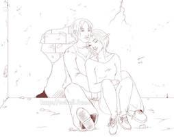 A bad love line by RevanRayWan