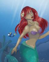 Ariel Little mermaid by RevanRayWan