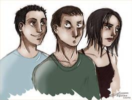 Trio IUT by RevanRayWan