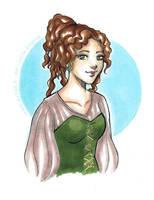 ETH. Melisende portrait by RevanRayWan