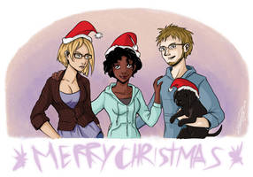 Merry Xmas and new year 2015 by RevanRayWan