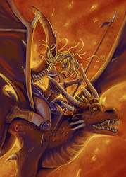 Dragon valyrie by RevanRayWan