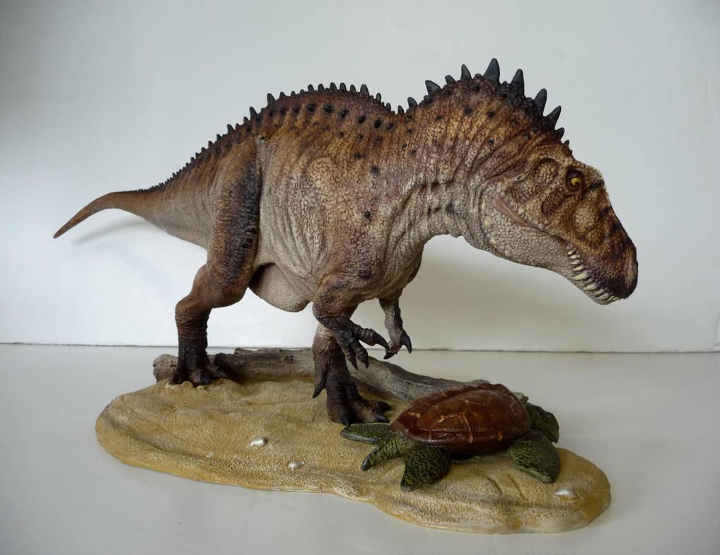 Acrocanthosaurus by Baryonyx-walkeri