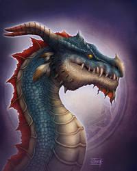 Mayan Dragon by Anant-art