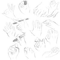 Hands and Fingers practice by TOXiC-ToOtHpAsTe
