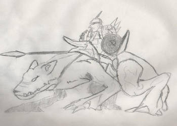 goblin reider by rosszarc