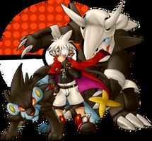 Pokemon Trainer Mao by TehBobcat