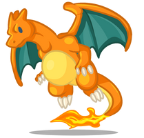 Charizard doodle by TehBobcat