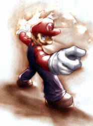 its me... Mario by LcBarbosa