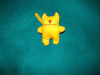 Felt Cat by plushie-fans