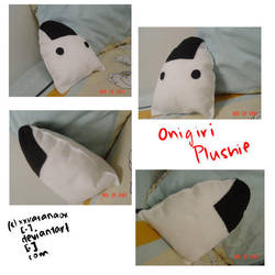 Onigiri Plushie by plushie-fans