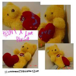 HeartsXLove Plush by plushie-fans