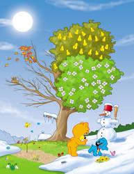 Pusik winter Frasko by Frasko