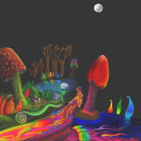 Enchanted Forest Canoe by mushroomGOD121