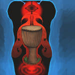 Djembe and Psychedelia by mushroomGOD121
