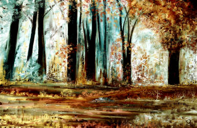 Abstract Forest by MarianthiZ