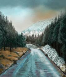 Winter Scene by MarianthiZ