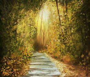 Forest II by MarianthiZ