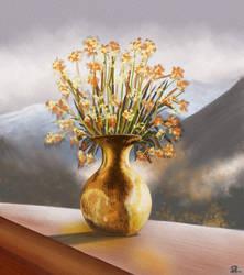 Golden Vase by MarianthiZ