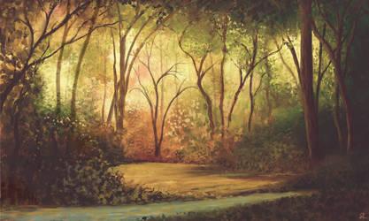 Fantasy Forest II by MarianthiZ