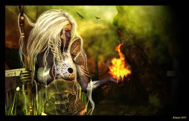Fiery nights by Najescha