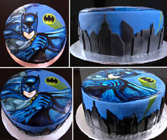 Batman Cake by Keep-It-Sweet