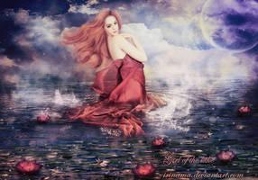 Girl of the lake by irinama