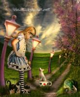 Alice in Wonderland by irinama