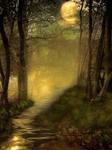 BG Fantasy Forest Stock 3 by irinama
