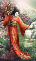 Geisha by irinama
