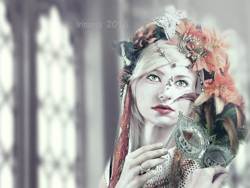 Misterious girl by irinama