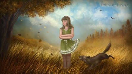Still autumn by irinama