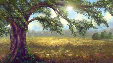 Tree by irinama