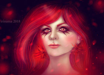 Red means beautiful by irinama