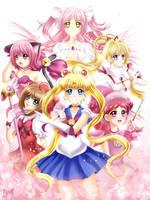 Magical Girls by MiyaSekaia