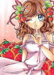 Strawberries by MiyaSekaia