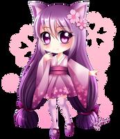 CE: Hanami Neko by MiyaSekaia