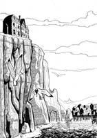 Cliffs at Innsmouth by Mercvtio