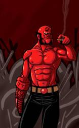 Hellboy by Mercvtio
