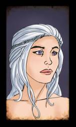 Daenerys sketch 2 by Mercvtio