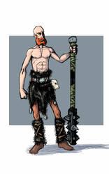 Random barbarian by Mercvtio