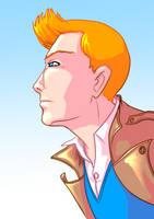 Tintin by Mercvtio