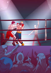 Aldana boxing by Mercvtio